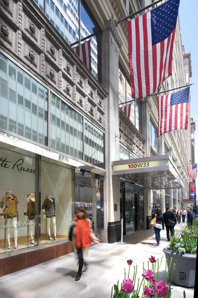 Manhattan Mall 100 West 33rd Street Vornado Realty Trust